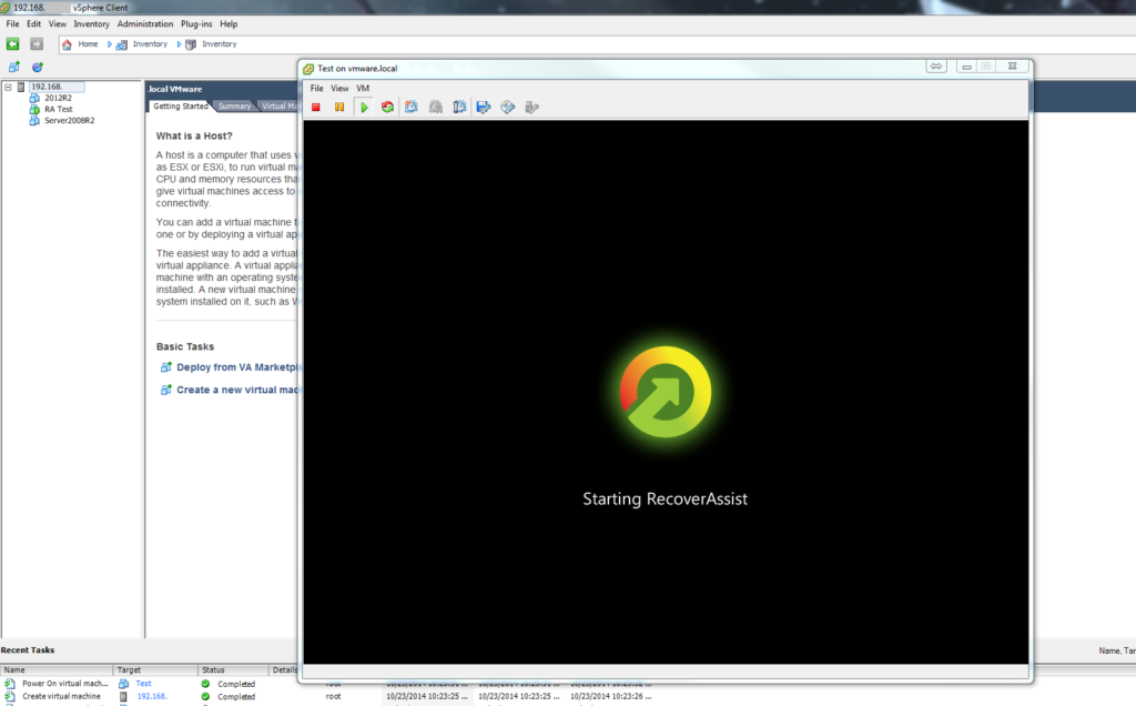 vmware-recovery