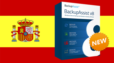 BackupAssist in Spanish