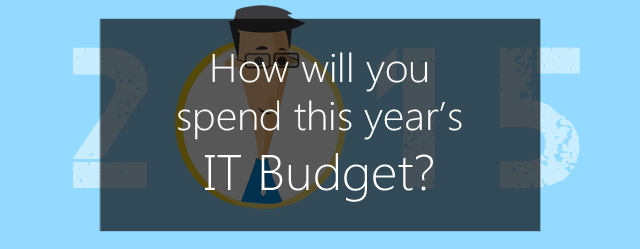 How will you spend your IT budget?