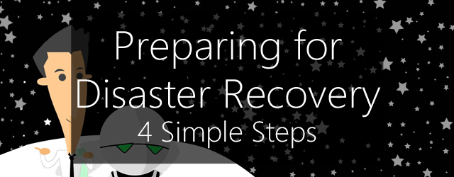 4 steps towards disaster recovery planning