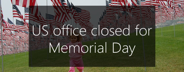 US office closed for memorial day