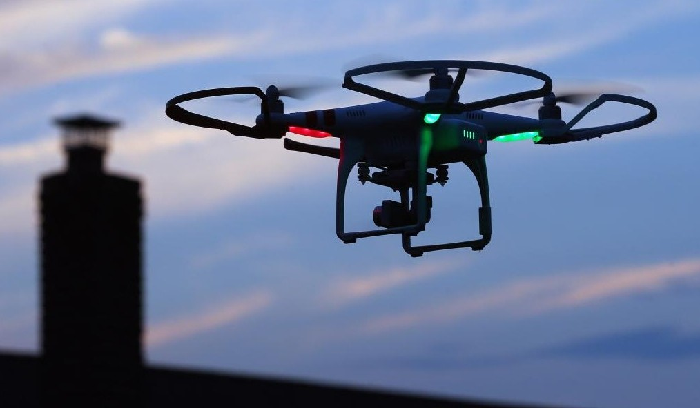IoT Ransomware hack drone