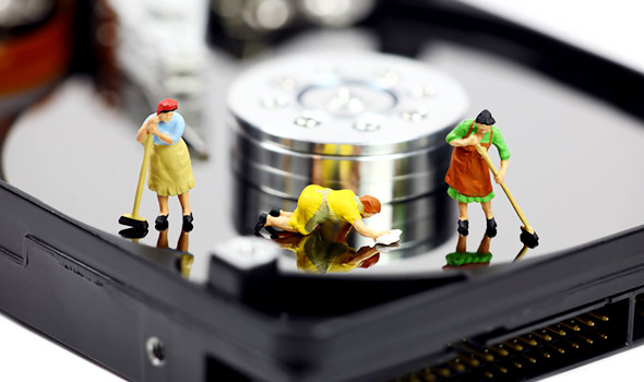 Disk space is crucial to restore from backup.