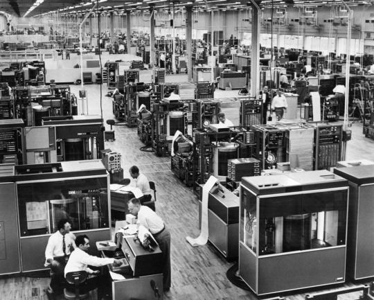 IBM Research Center, San Jose: Everything was black and white then.