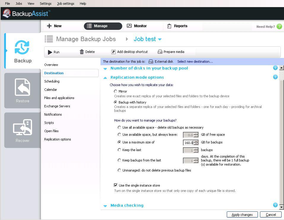 BackupAssist - Remote Offsite Backup for your Data